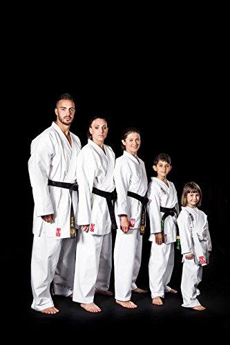 Kimono karate arti marziali ko l'artigiano dello sport - bianco