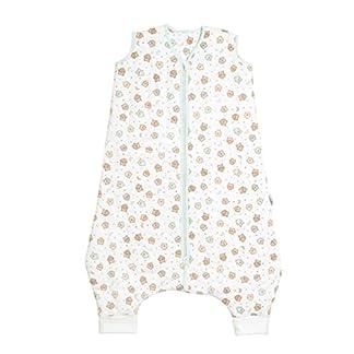 Saco de Dormir con Pies de Verano Slumbersac para Bebé aprox. 1 Tog – Búho – disponible en 5 tallas