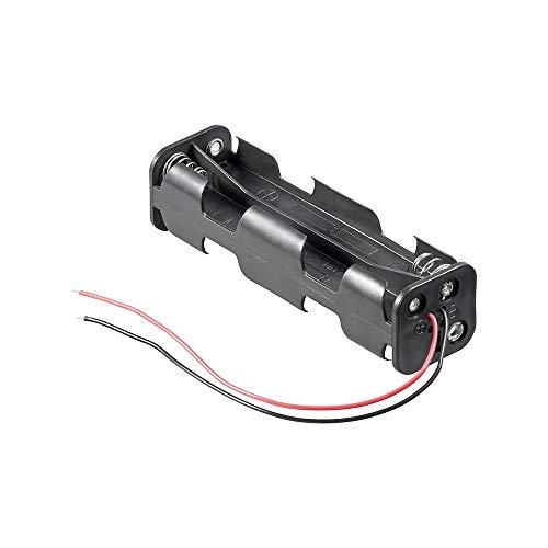 Goobay 11741 Chargeur de Batterie - Chargeurs de Batterie (AA, Noir)