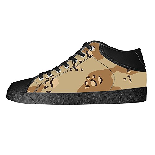 Dalliy tarnung Men's Canvas shoes Schuhe Lace-up High-top Sneakers Segeltuchschuhe Leinwand-Schuh-Turnschuhe A