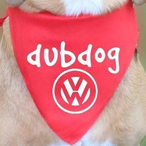 The-Prancing-Dog-VW-Dubdog-bandana-Volkswagen-Campervan-Beetle-T1-T2-T25-T4-T5-T6-Vanagon-Caravelle-Camper