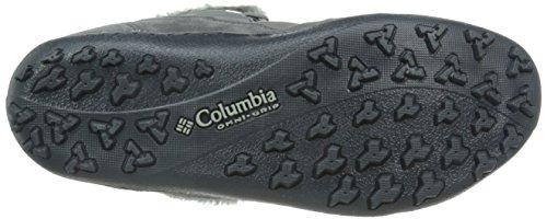 Columbia Minx Shorty Omni-chaleur Stivali Invernali Shale, Framboise Foncée