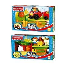 fisher price little people la ferme jeux et jouets. Black Bedroom Furniture Sets. Home Design Ideas