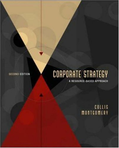 Corporate Strategy: A Resource-based Approach