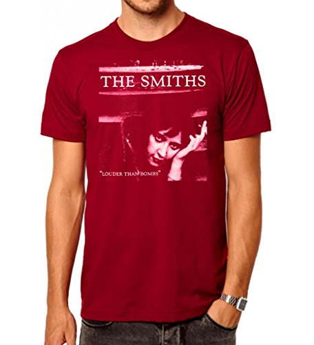the-smiths-louder-than-bombs-mens-fashion-quality-heavyweight-t-shirt-red-medium