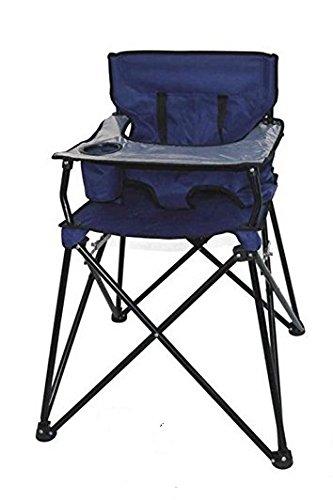 Seggiolone bimbo pieghevole camping con custodia