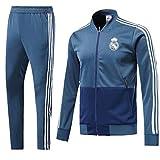 Shi18sport Club Langarm-Trikot Fußballanzug Anzug Team Spielen Wettbewerb Trainingsanzug, 2, L