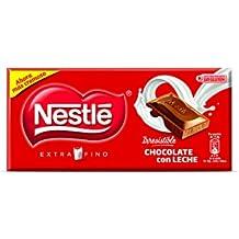 NESTLÉ EXTRAFINO Chocolate con Leche - Tableta de Chocolate Tripack 125g