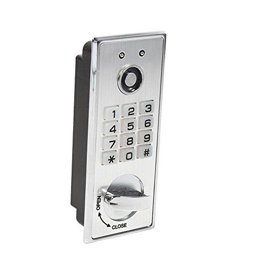 Digital Keypad Passwort Keyless Lock mit Backup Tasten Elektronische Security Cabinet Coded Locker Key Access für Tür Cabinet