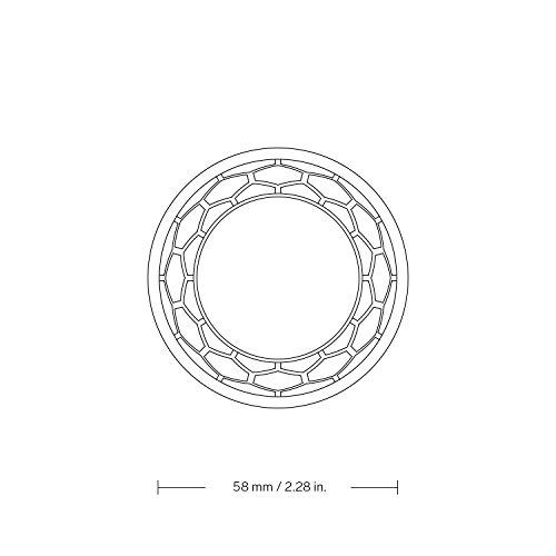 LELO HEX Respect XL: Condones de Talla Grande con Estructura Hexagonal Única. Pack de 3 Condones Lubricados, Finos y… 3 Sexo seguro, condones y contenido erótico | Más de condones