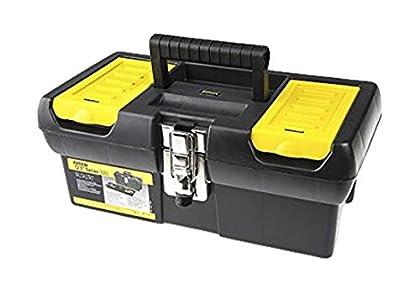 STANLEY 1-92-064 Caja de herramientas millenium con cierres metálicos, 32cm