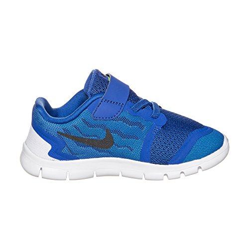 Nike Free 5 (Tdv) Scarpe Walking Baby, Bambina, Multicolore (Pink Pow/Black-Vivid Pink-Wht), 22 Blu (blu)