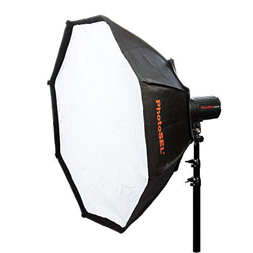 PhotoSEL SBSC150 Studioblitz Softbox, Durchmesser 150 cm, achteckig, S-Mount für PhotoSEL / Bowens - Anschluss