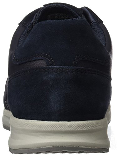 Geox U Avery B, Sneakers Basses Homme Bleu (Navy)