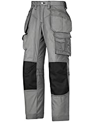 Snickers Floorlayer Trousers Grey 144 W30 x L35