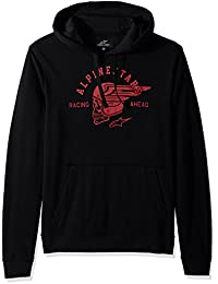 Alpinestars Men's Pullover Hooded Sweatshirt Modern Fit 200 GSM Motorsports Heritage Fleece