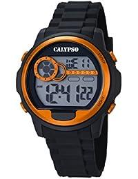 Calypso Herren-Armbanduhr Digital Quarz Plastik K5667/4