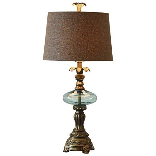 pllp Retro Schlafzimmerlampe, europäische Luxuxnachttischlampe, Leselampenwohnzimmer, klassische französische Gerichtslichter,Vintage Lampe,Einheitsgröße