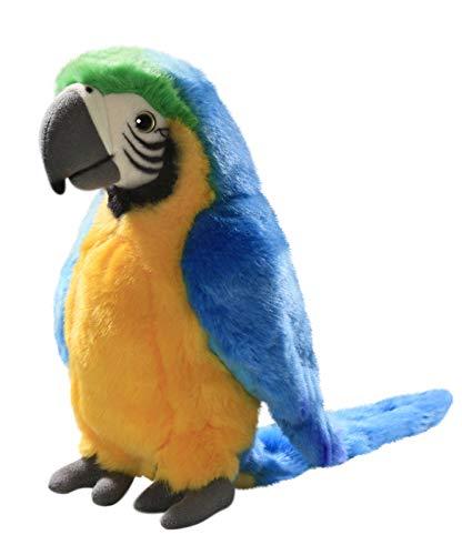 Carl Dick Peluche - Loro azula-amarillo (felpa, 28cm) [Juguete] 3193001