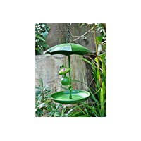 Annibells Hanging Umbrella Bird Feeder with Decorative Frog