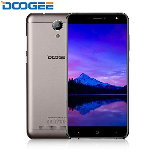 "Telephone Portable Debloqué, DOOGEE X7S Smartphone 4G Pas Cher, VR 6.0 Android Smartphone avec 6"" HD IPS Écran - MTK6737 Quad..."
