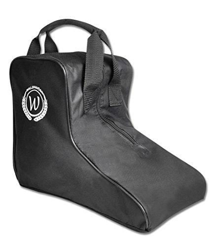Stiefelettentasche, Tasche für Schuhe, Jodhpurstiefeletten mit Tragegriff und Zip