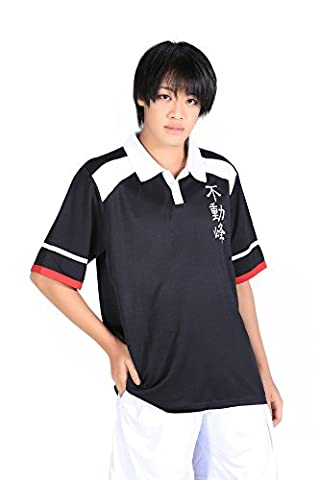 De-Cos Prince of Tennis Cosplay Fudomine High School Summer Sport Outfit