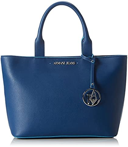 Armani Jeans Women's 922531CC856 Top-Handle Bag blue Blau (OCEAN BLU 09934)