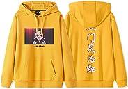 Demon Slayer Kimetsu No Yaiba Anime Sweatshirt,Long Sleeve 3d Print Hoodies Pullover For Anime Lovers And Gift