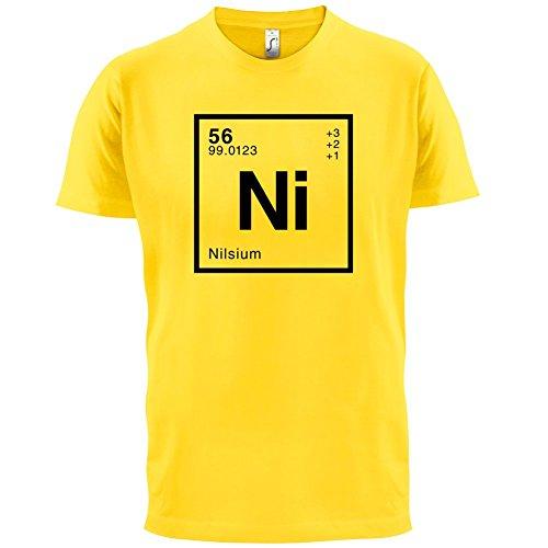Nils Periodensystem - Herren T-Shirt - 13 Farben Gelb