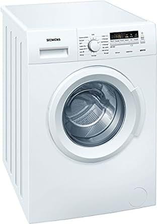 Siemens WM14B211FF Autonome Charge avant 6kg 1400tr/min A+++ Blanc machine à laver - machines à laver (Autonome, Charge avant, A+++, B, Blanc, Gauche)