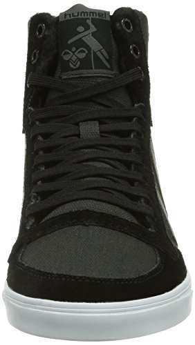 Hummel Hummel Slimmer Stadil Waxed Hg, Baskets mode mixte adulte Noir (Black 2001)