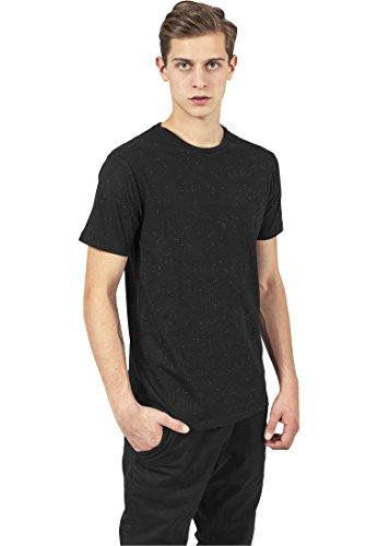Urban Classics Herren T-Shirt Multicolor Naps Tee Black