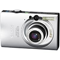 Canon Digital IXUS 80 IS Digitalkamera (8 Megapixel, 3-fach opt. Zoom, 6,4 cm (2,5 Zoll) Display, Bildstabilisator) silber