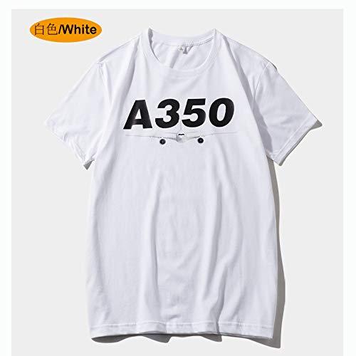 jknnw Frühling und Sommer T-Shirt Männer Baumwolle Kurzarm Rundhals lose Größe Männer und Frauen Sport Freizeit Kultur Trend T-Shirt