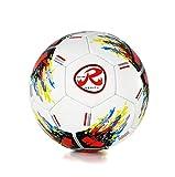 Ronex G-14, Pallone da Calcio, Alta qualità e Perfetto per Il Livello di Competizione, Taglia 5 (Multicolore, 5)