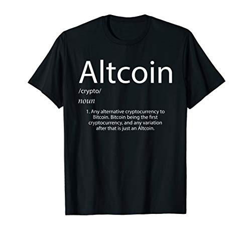 Altcoin Definition - Alternative Cryptocurrency to Bitcoin T-Shirt