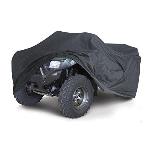 Preisvergleich Produktbild JenNiFer Wasserdicht Motorradfahrrad-Pu-Cover Quad ATV Vehicle Scooter Motor Bike Universal Black M XL - M
