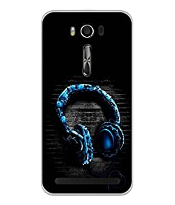 PrintVisa Relax Me High Gloss Designer Back Case Cover for Asus Zenfone 2 Laser ZE550KL (5.5 Inches)