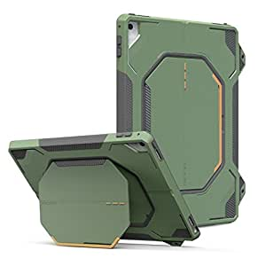 free shipping 9ebf9 fa9f1 MoKo Case for iPad Pro 9.7 Heavy Duty Shockproof Full Body Rugged Hybrid  Cover with Built-in Sc