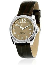 Esprit Damen-Armbanduhr Analog Quarz Leder ES100502002
