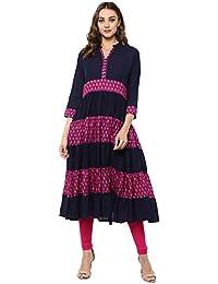 The Style Story Women's Cotton Blend Kurti