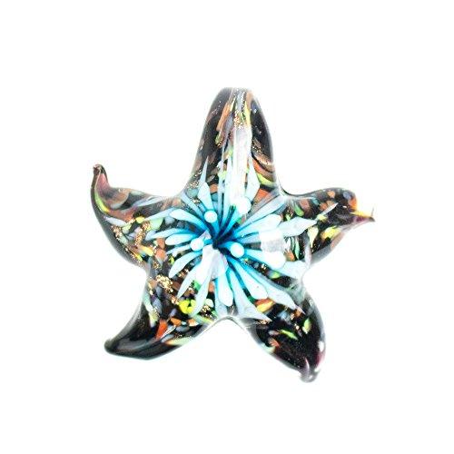 Paracord Planet Glas Seestern Anhänger in verschiedenen und einzigartige Farben Turquoise