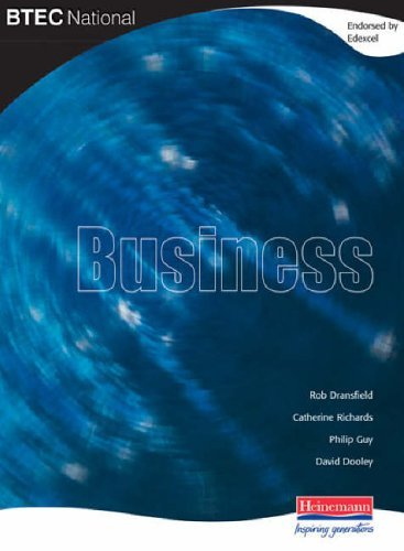 BTEC National Business: Student Book by Mr Rob Dransfield (2004-07-20)