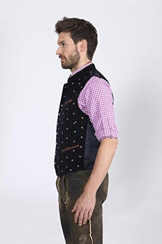 Stockerpoint - Herren Trachten Weste in verschiedenen Farbtönen, Calzado, Größe:64, Farbe:Schwarz - 3