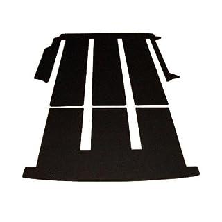 autix 368369 Gastraum und Kofferraum Komplett Teppich Fußmatte
