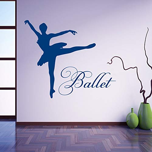 Etiqueta engomada vinilo bailarina ballet bailarina