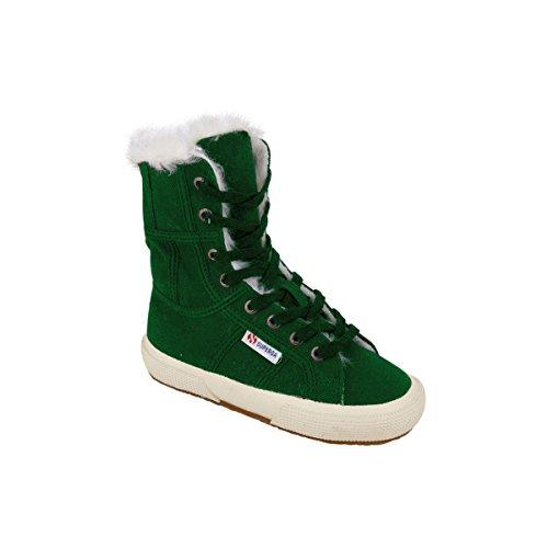 Superga , Baskets mode pour garçon Jungle Green
