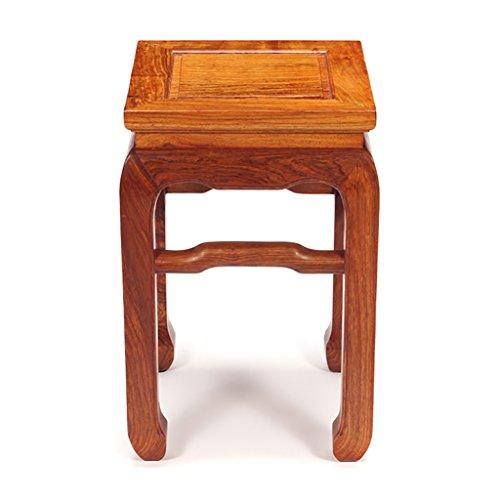 Mahagoni Outdoor-sofa (ZHANGLIXIANG Stool Massivholzhocker Holzhocker Square Hocker Hocker Hedgehog Palisander Mahagoni Bank Tenon Bank Swing Rack Hocker (größe : #3))