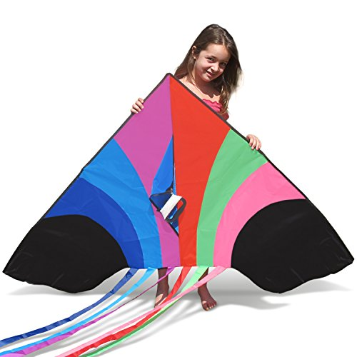 tomi-kite-huge-rainbow-kite-that-is-ideal-for-kids-and-adults-easy-to-launch-in-stiff-wind-or-soft-b